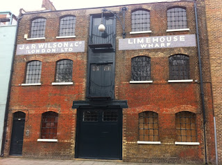 Urban wandering - Limehouse Wharf, Narrow Street, London E14