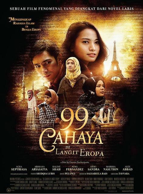 Film Bioskop Fatin Shidqia Lubis 99 Cahaya di Langit Eropa
