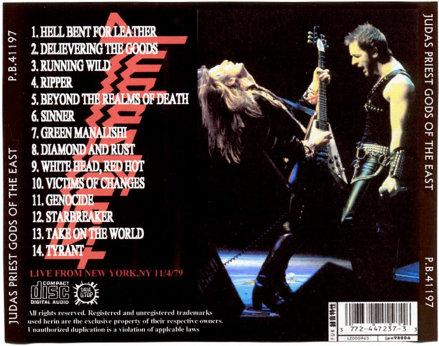 Judas Priest - Sinners And Saints
