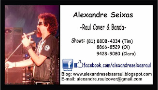 AGENDA DE SHOWS ALEXANDRE SEIXAS/2014