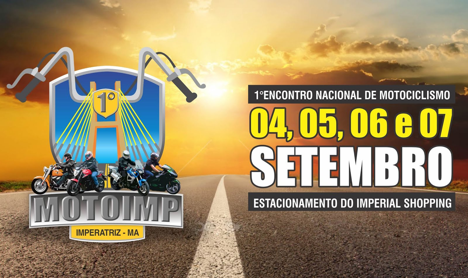 Evento nacional de motociclismo será lançado nesta sexta-feira em Imperatriz