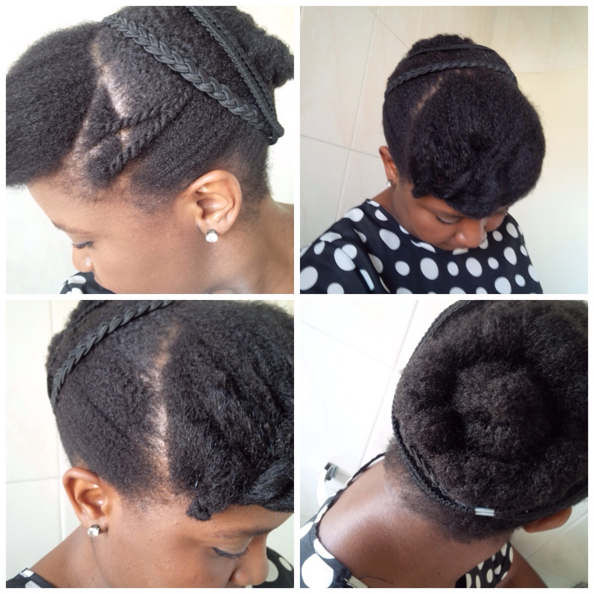 AfroMoriri Hairstyle Inspiration Easy Natural Hair Styles For Work