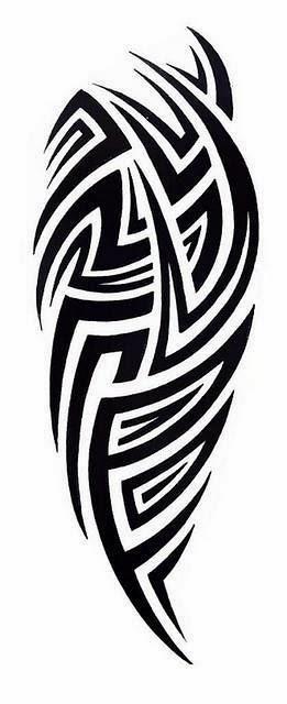 Half Sleeve Tribal Tattoo Stencils