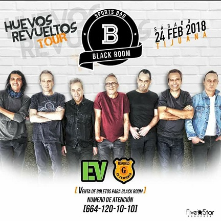 HUEVOS REVUELTOS TOUR