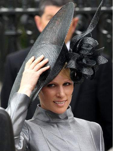 zara phillips hat. Zara Phillips