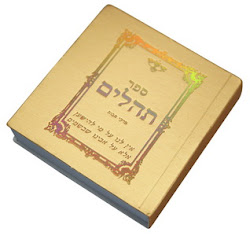 Libro Tehilim/ Salmos en hebreo 5.5 ctms.