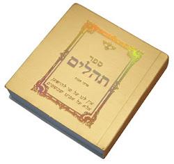 Libro Tehilim/ Salmos 5.5 ctms.
