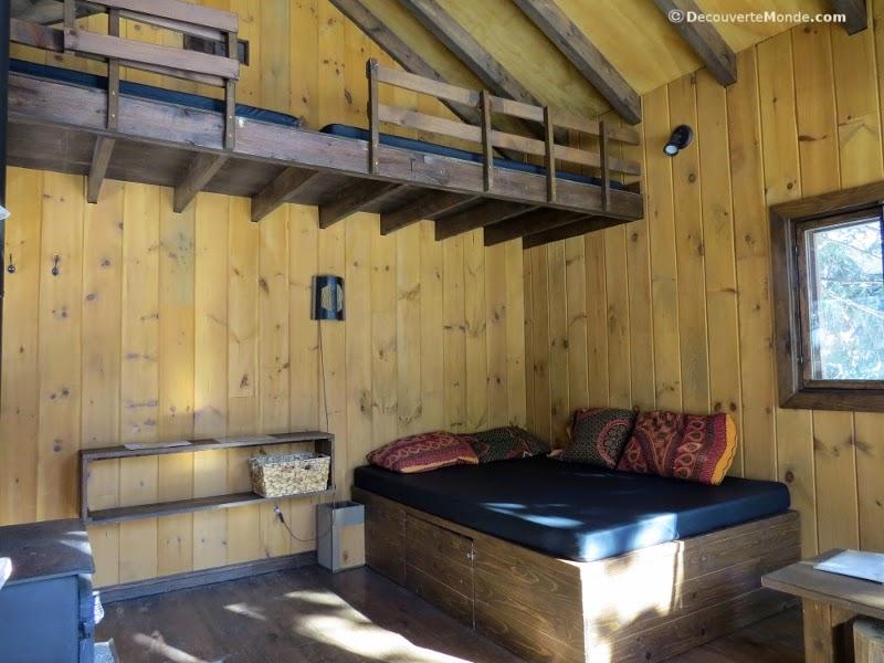 kabania l exp rience de dormir dans les arbres. Black Bedroom Furniture Sets. Home Design Ideas