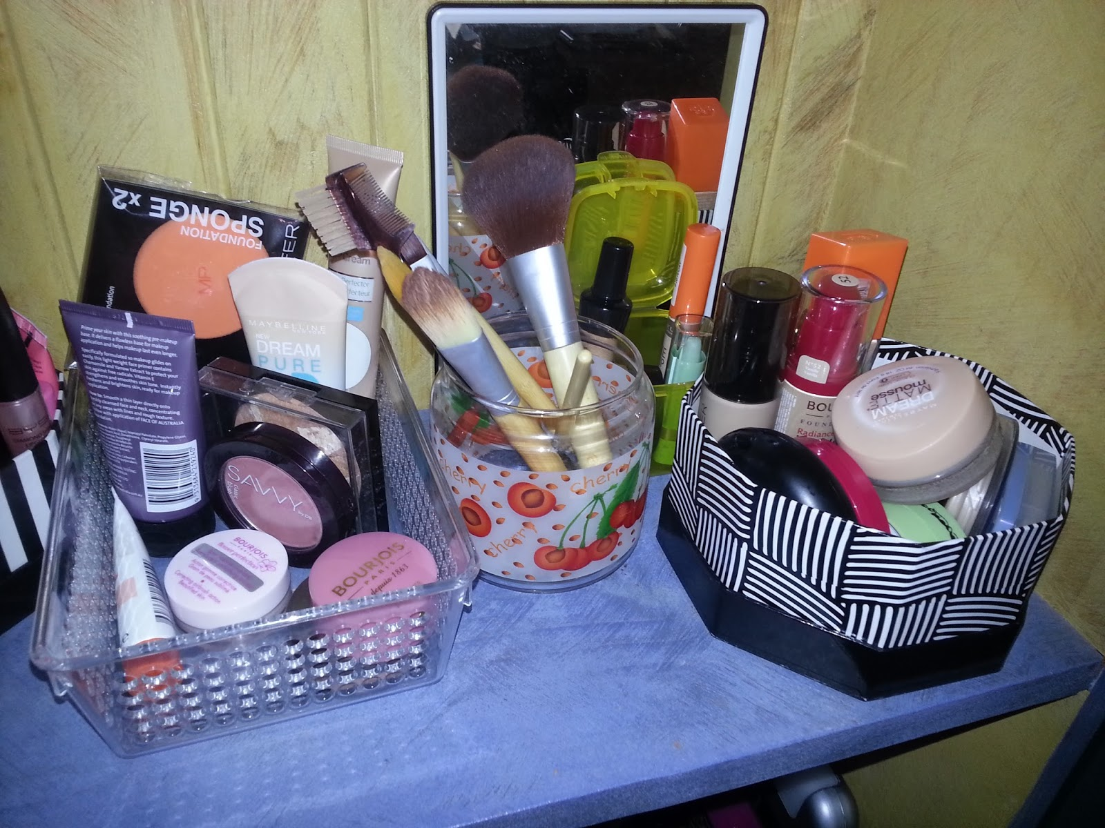 Lust The Beauty My Makeup Collection And Storage