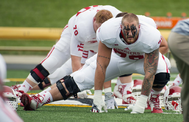 Indiana Hoosiers football Jason Spriggs Outland Trophy IUFB IU