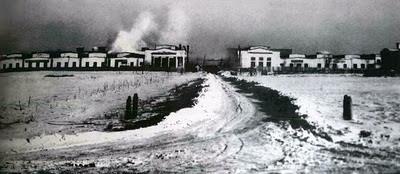 Instalaciones originales de la fabrica Ural en Irbit