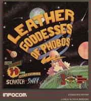 Portada Leather Goddesses of Phobos 1986