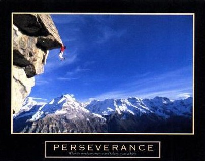 The Pythagorean Storyteller: 116 ~on perseverance