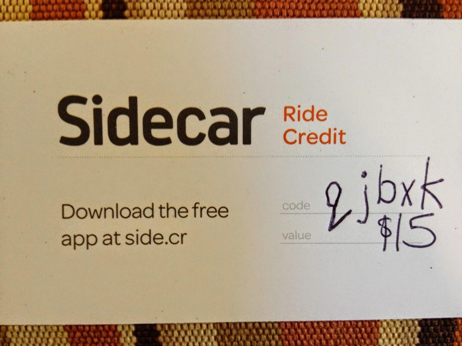 Ridesharing SideCar - Visit Side.cr