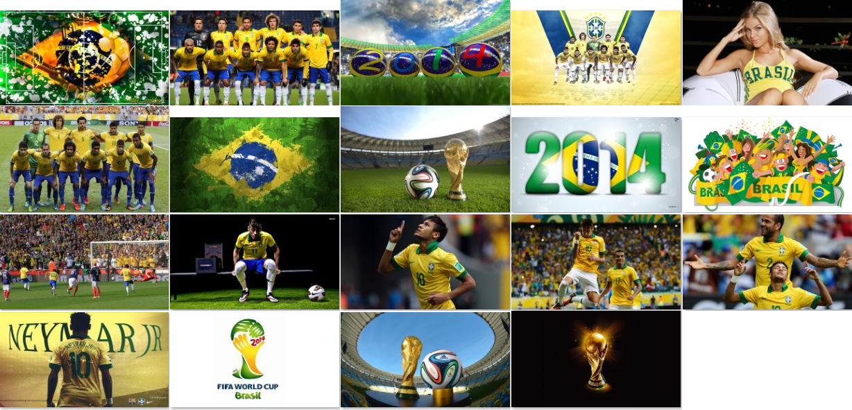 Download Brazil Team Football Windows 8.1 Theme