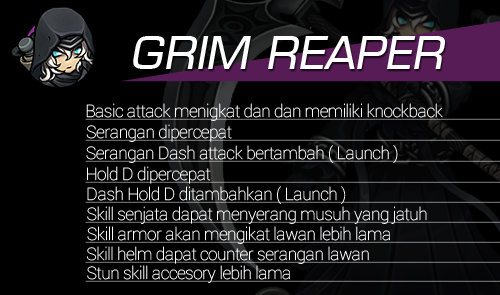 Hero Reform Grim Reaper