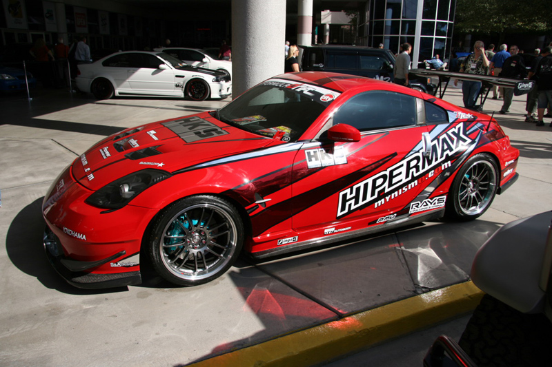 Modified Nissan 350z Racing