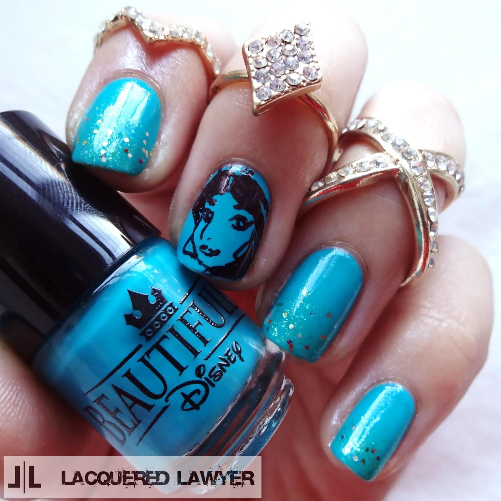 Aladdin Nail Art