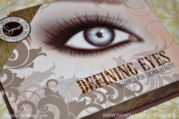 Sigma Defining Eyes Palette by TiffanyD