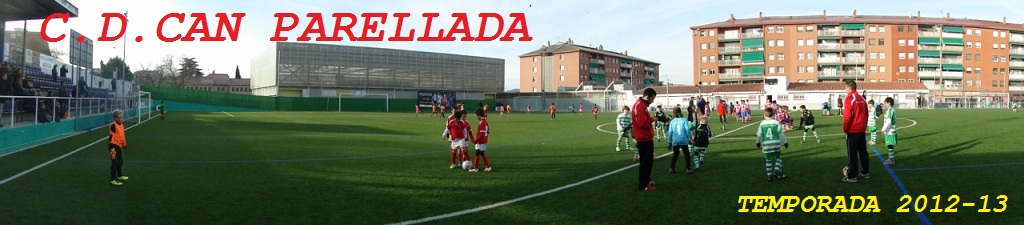 C.D.CAN PARELLADA TEMPORADA 2012-13