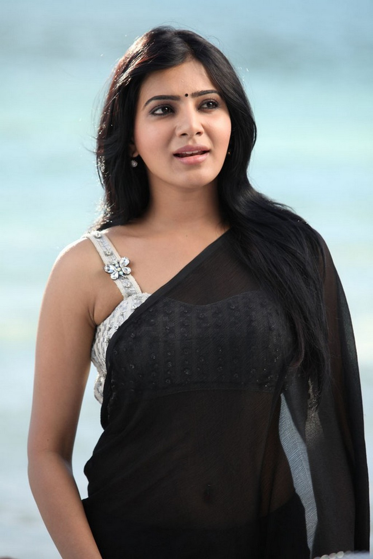 samantha hot stills in saree south actress
