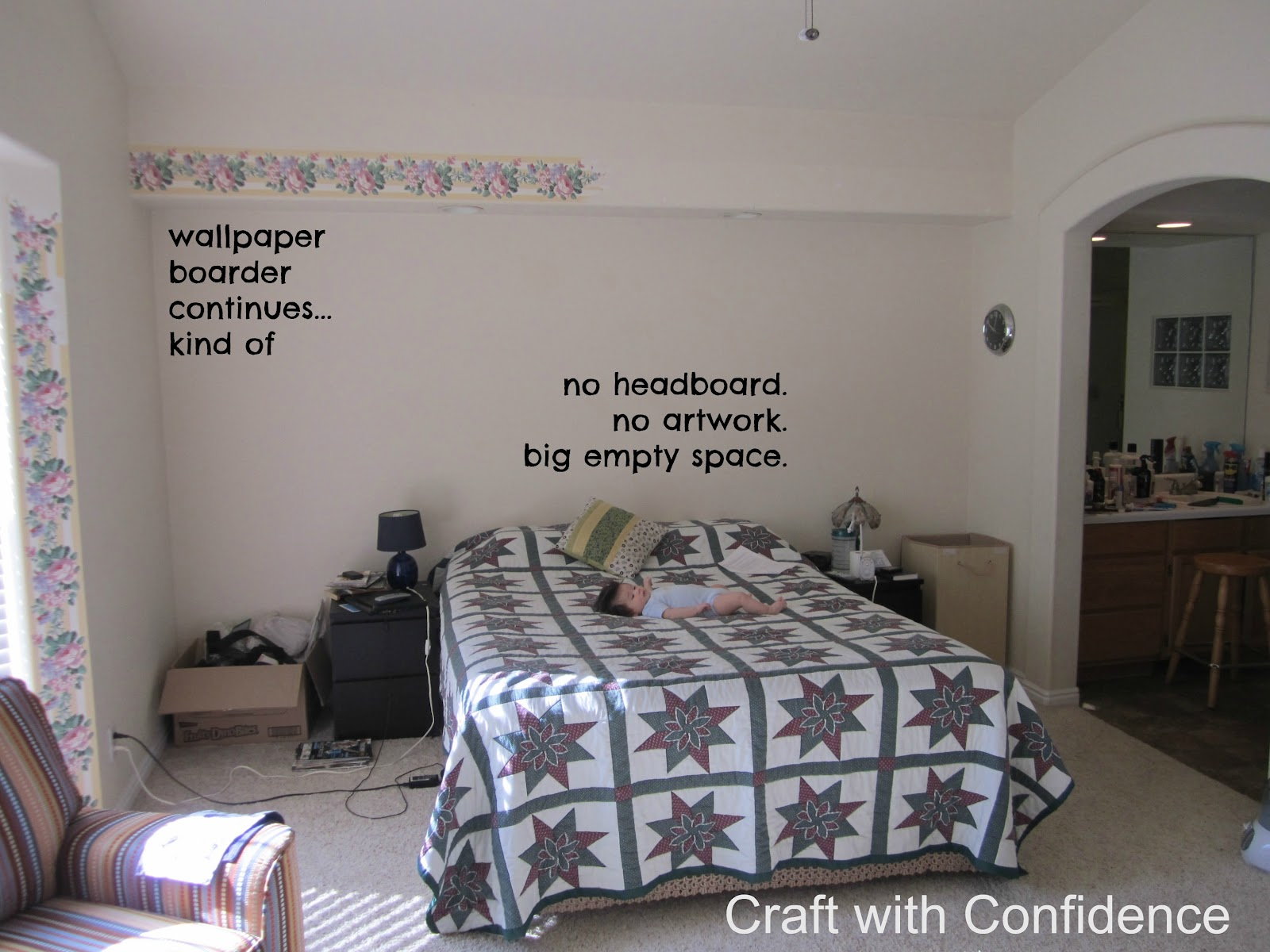 Craft with Confidence EPIC ROOM MAKEOVER entry
