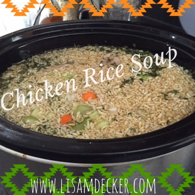 Clean Eating Soup, Chicken and Rice Soup