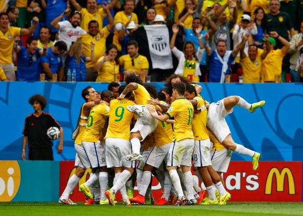 BRASILE E COLOMBIA SI SFIDERANNO AI QUARTI DI FINALE