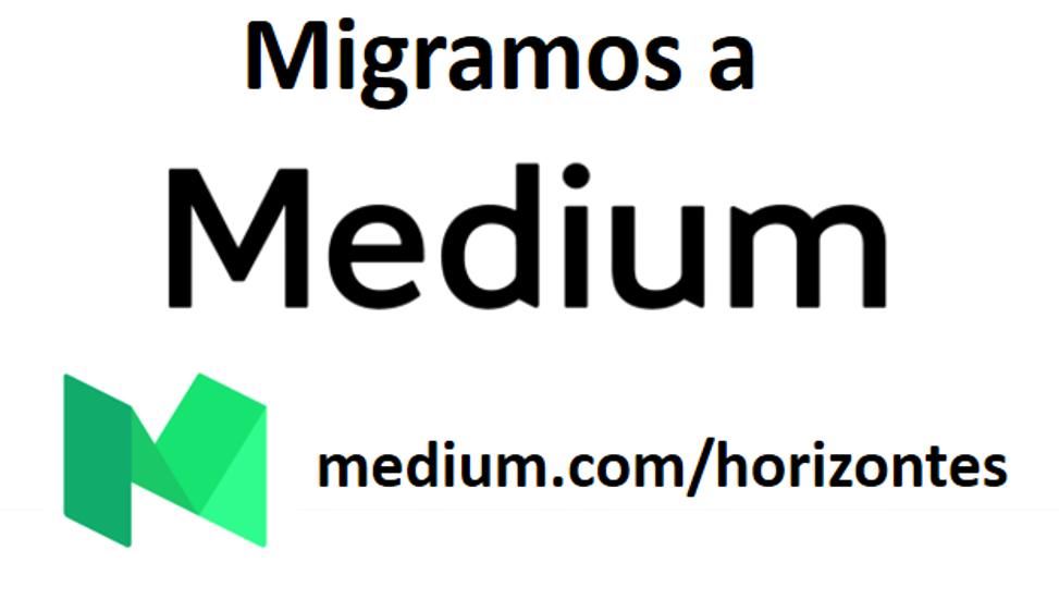 Este blog ha migrado a medium.com/horizontes