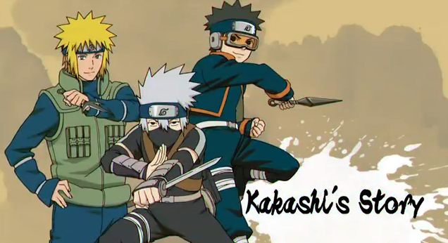 Naruto Shippuden Ultimate Ninja Storm Generations Playable Characters Kakashi's Story