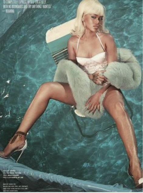 Rihanna x V Magazine