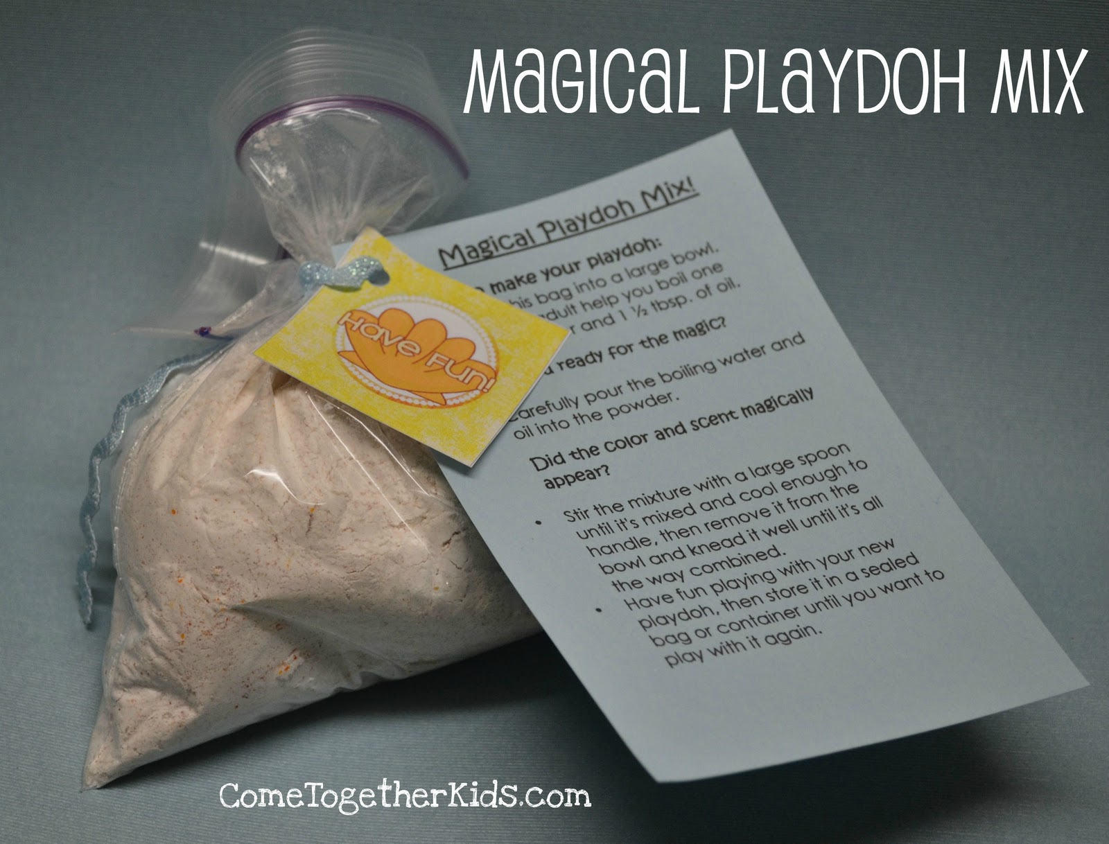 1 Magical Playdoh Mix