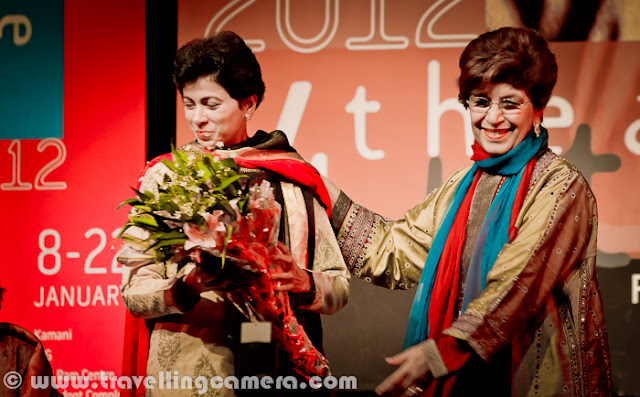 Bharat Rang Mahotsav, BHARANGAM, is the annual theatre festival of National School of Drama (NSD), New Delhi, India's premier theatre training institute of Govt. of India. Originally founded to show case, works of Indian theatre practitioners, over the year it has grown to attract international performers as well.Let's check out this Photo Journey to know which plays are happening in 2013.Here are the play details to be showcased this year : The Tale of The TigerPlaywright: Dario FoDir: Arash AbsalanGroup: Azdar Theatre, Kabul, AfghanistanPersian, 1 hr 30 mins         Rajar Chitthi-1942Playwright & Dir: Subhashis GangopadhyayGroup: Renaissance, KolkataBengali & Hindi, 2 hrs 10 mins   Miss JuliePlaywright: August StrindbergDir: Sohaila KapurGroup: Katyayani, New DelhiEnglish, 1 hr 30 mins             15 Tue    HomapakhiPlaywright: Dr. Amit Ranjan BiswasDir: Soumitra ChatterjeeGroup: Shyambazar Mukhomukhi, KolkataBengali, 2 hrs    Daak GharPlaywright: Rabindranath TagoreDir: P.S.ChariGroup: Triveni, VadodaraGujarati, 1 hr 15 mins       Khol Do aur MozelDir: Devendra Raj AnkurGroup: Sambhav Art Group, New DelhiHindi, 55 mins    Yaar Banaa Buddy -Bang on . . . Dhamaal Tigdi!Script & Dir: Nadira Zaheer BabbarGroup: Ekjute Theatre Group, MumbaiHindi, 2 hrs 10 mins    The Non-Stop Feel-Good ShowScript & Dir: Maya Krishna RaoGroup: Vismayah, New DelhiEnglish, 1 hr 15 mins           16 Wed    What Craziness! Why you behave this wayAdaptation & Dir: PrasannaGroup: Rangayana, MysoreKannada, 1 hr 45 mins   Eigi Khongthang LepkhiroiPlaywright & Dir: Dr. S. ThaninleimaGroup: Khenjonglang, ImphalManipuri, 1 hr 10 mins   Inspired by Blindness(Solo performance based on the original by Jose Saramago)Adaptation & Dir: Sathya BhamaGroup: Individual ProductionEnglish, 1hr          Devi SarpamastaPlaywright: Manoj MitraDir: Debesh ChattopadhyayGroup: Minerva Natyasanskriti Charchakendra, KolkataBengali, 2 hrs 30 mins   King LearDir: Ovlyakuli Khodjakuli, Turkmenistan , UzbekistanGroup: A