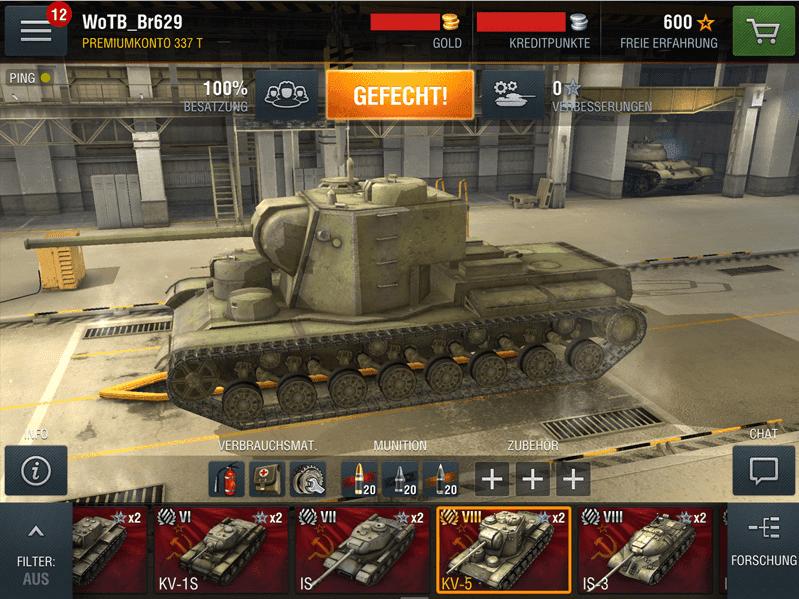 World of tanks blitz android - YouTube