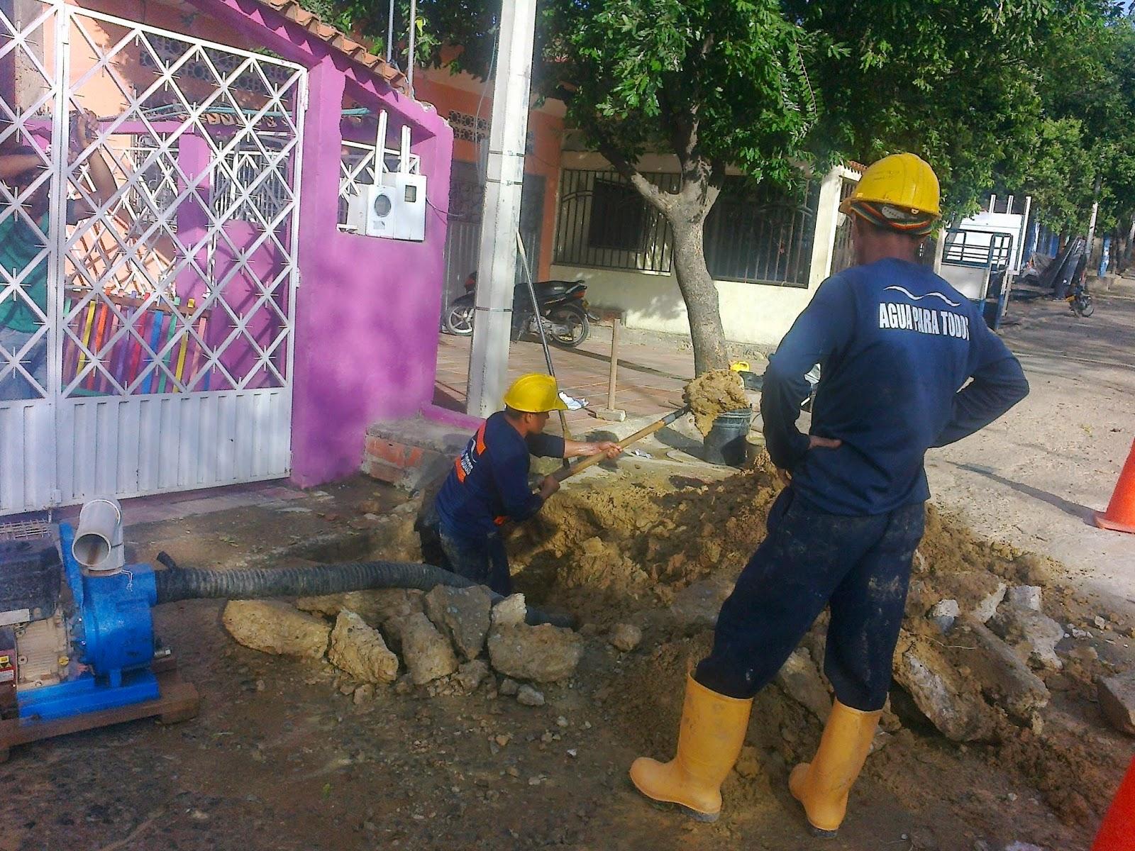 Llega la cuadrilla de #AguasKpitalCúcuta a reparar bote de agua en #EcoparqueDivinoNiño de Chapinero #MovilNOTICIASLlega la cuadrilla de #AguasKpitalCúcuta a reparar bote de agua en #EcoparqueDivinoNiño de Chapinero #MovilNOTICIAS