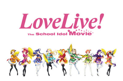 3. Love Live! The School Idol Movie (236 votes)