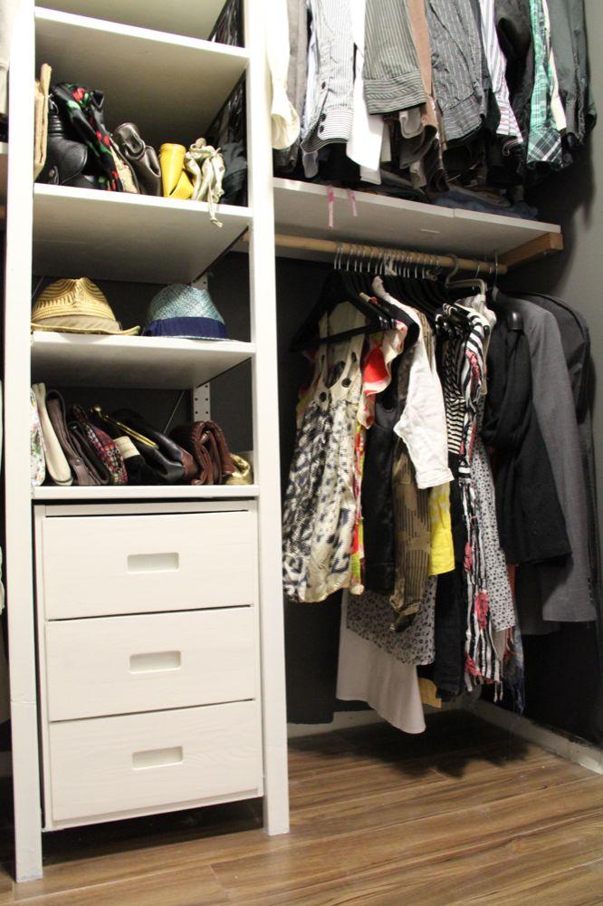 Ivar Hack vee at home ikea hack ivar wardrobe