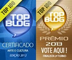 Top Blog - Somos top 100 por dois anos seguidos