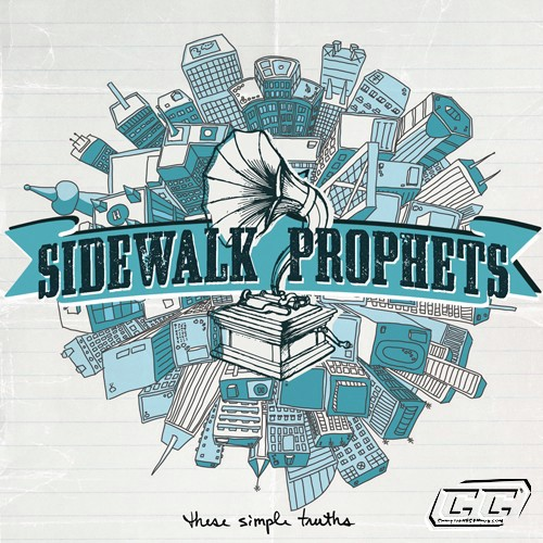 Side Walk Prophets - These Simple Truths 2011 English Christian Album