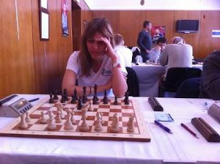 Echecs à Dieppe : Tatiana Kostiuk GMF Ukraine © Chess & Strategy