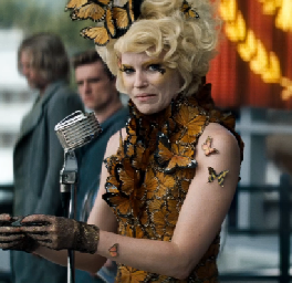 Hunger Games: Catching Fire Effie Trinket Annoucing 75th Hunger Games Tributes
