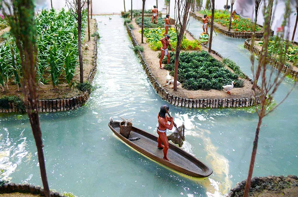The monkey buddha future of food floating farms for Georgia fish farms