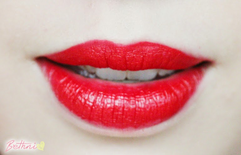 Zoeva Luxe Cream Lipstick - Cooling Passion swatch