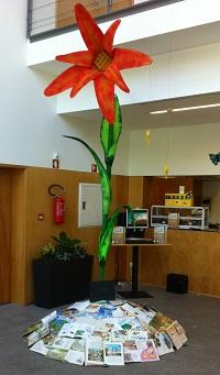 A nossa flor...