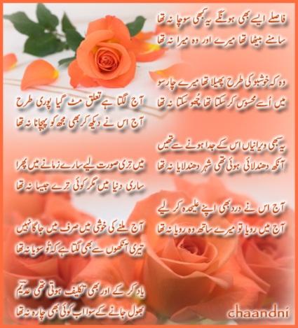 Love Poetry in Urdu Raomantic Two - 85.3KB