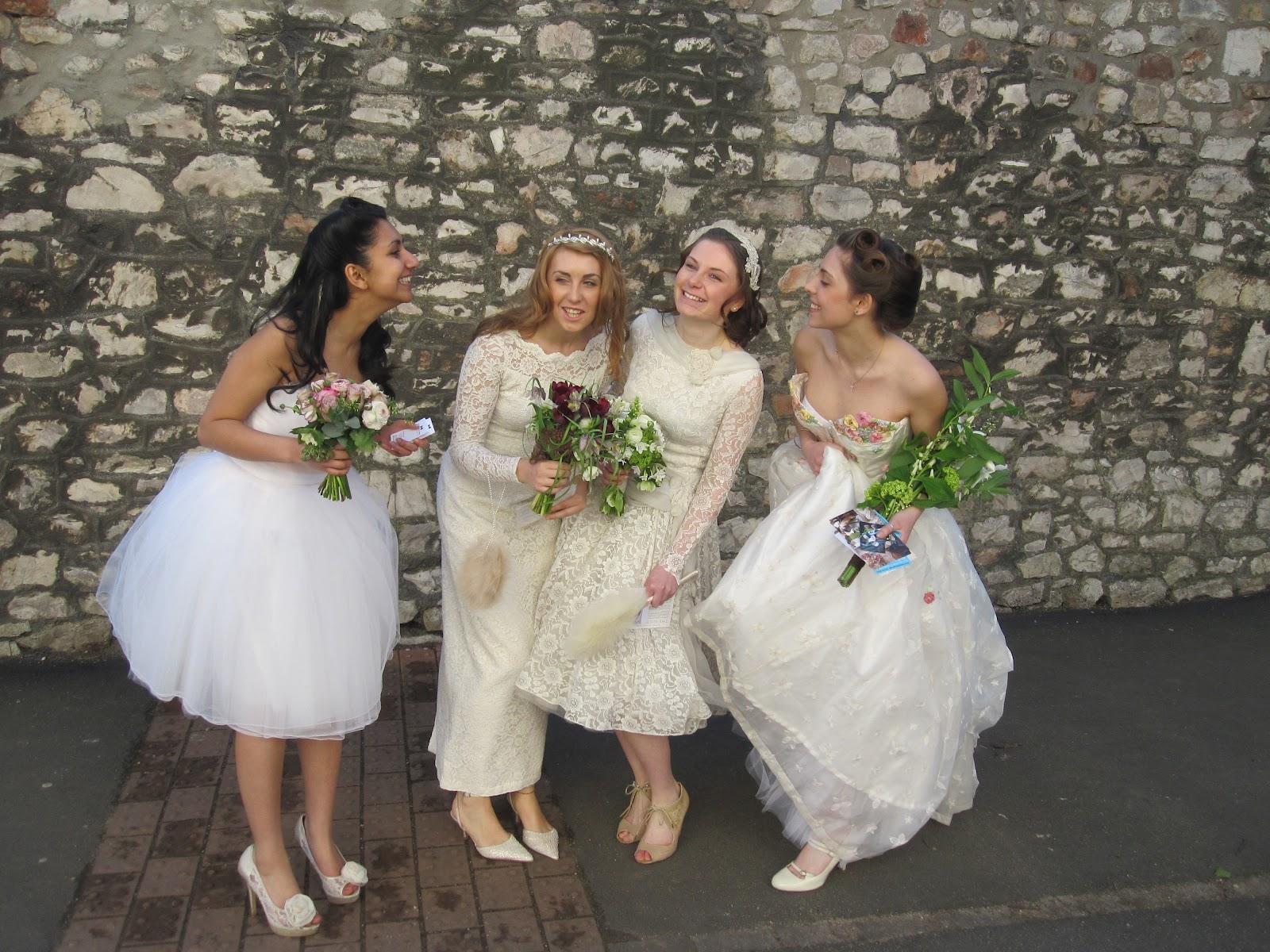 Bristol Vintage Wedding Fair Vintage Models