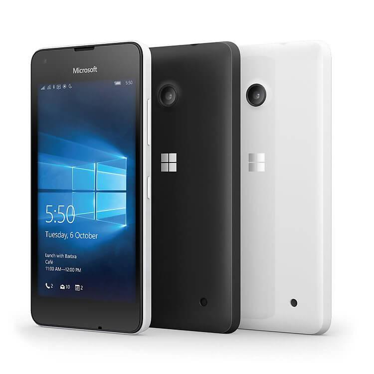 Lumia 550 hero