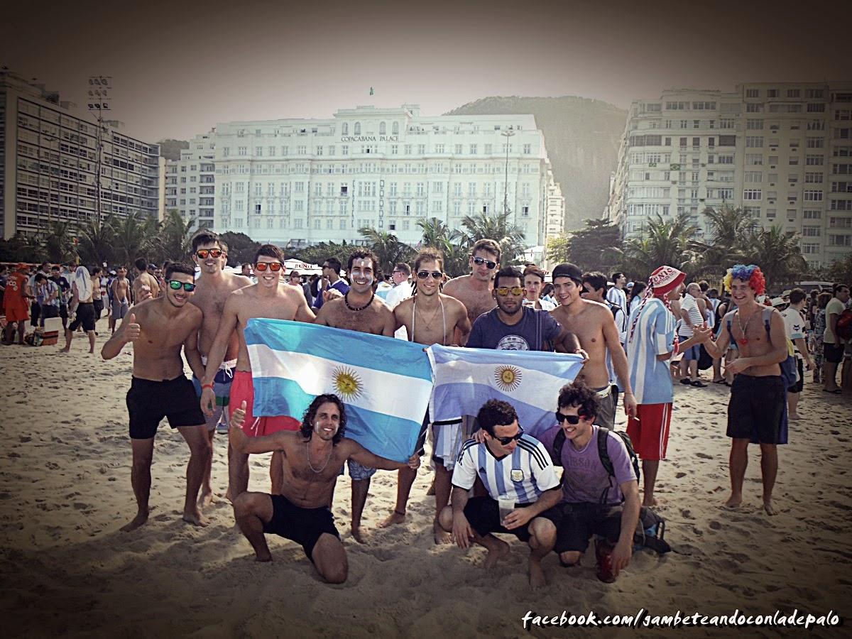 Buenos muchachos en Río de Janeiro