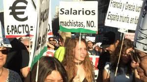 NO A LOS SALARIOS MACHISTAS