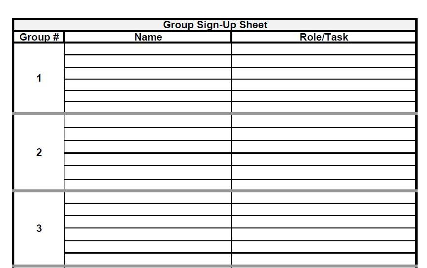 signup sheet mersn proforum co